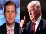 Eric Trump Praises Dad For Admitting He Regrets Past Remarks