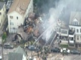 Explosion Destroys Two Houses In New Jersey