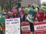 Estimated 500,000 People Attend Women's March In DC