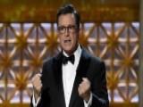 Emmy Awards Target President Trump