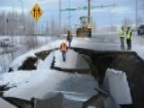 Earthquake Cleanup Underway In Anchorage, Alaska