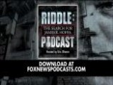 Eric Shawn: 'Riddle, The Search For James R. Hoffa'