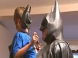 Fatally-ill Child Meets Batman
