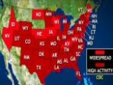 Flu Outbreak Labeled Classic Epidemic 41 States Affected