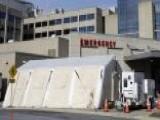 Flu Outbreak Forces Pennsylvania Hospital To Set Up ER Tent