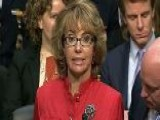 Former Rep. Giffords Appears At Gun Control Hearing