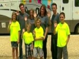 Family Spends Summer Vacation Serving Others
