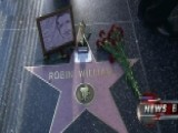 Fans Pay Their Respects At Robin Williams' Walk Of Fame Star