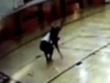 Foul Play! Teacher Body Slammed During Basketball Game