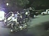 First Responders Lift Car, Save Trapped Motorcyclist