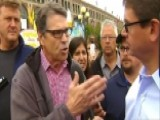 For Rick Perry, It's About Securing Border First