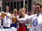 Feel The Burn: 'Fox & Friends' Beer Stein Holding Contest