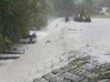 Flood Waters Breach Dams In South Carolina