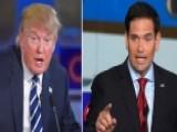 Feud Between Marco Rubio And Donald Trump Heats Up