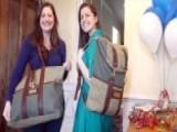 Fox Flash: Sisters Turn Military Surplus Into Stylish Bags