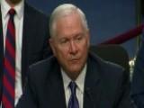 Former Pentagon Chief Robert Gates Speaks Before Congress
