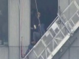 Firefighters Save Window Washers Trapped On Broken Scaffold