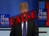 Fact Checking The Fox News GOP Debate