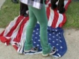 Flag-stomping Protesters Sparking Outrage On Campaign Trail