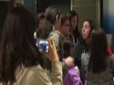 Furious Passenger Throws Tantrum Over Delayed Flight