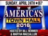 Fox News Hosting Live Town Hall In Philadelphia On April 24
