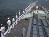 Fleet Week Kicks Off With Ceremonial Parade Of Ships