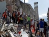 Frantic 00004000 Search For Survivors After 6.2 Earthquake In Italy