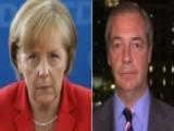 Farage: German Voters Bloodied Merkel's Nose