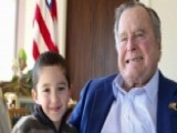Former President HW Bush Shares New Pic With Cancer Survivor