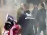 FedEx Driver Defends Old Glory