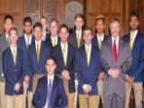 Fraternity Initiates Vietnam Veteran