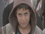 Families Fleeing Mosul Reach Relative Safety Of Refugee Camp