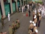 Fleet Week Tug-of-war: Navy Vs. Marines