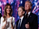First Lady Melania Trump And Son Barron To Move To WH