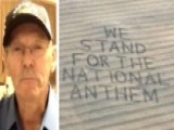 Farmer Plows A Message For The NFL Protesters