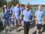 Family Runs 100 Miles To Celebrate Veteran's 100th Birthday