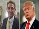 Flake Compares Trump's Media Attacks To Stalin In Interview