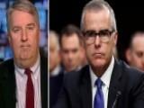 Former DOJ Prosecutor Says Firing McCabe Would Be Warranted
