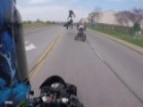 Frightening Video: Motorcycle Crash Caught On Camera