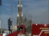 Fire Crews Battle Blaze At Historic Milwaukee Church