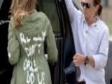 First Lady's Jacket Overshadows Border Visit