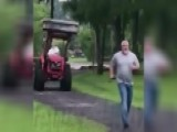 Florida Man Chases Down Neighbor With Tractor