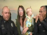 Florida Officers Save Choking Baby At Mall
