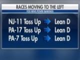 Fox News Power Rankings: 11 Races Shift Left