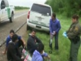 Fox News Is There As Illegal Crossers Are Detained At Border