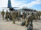 First Wave Of US Troops Arrive On The US-Mexico Border