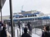 Ferry Crashes Into San Francisco Pier