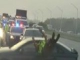 Florida Trooper Tossed Into Air After Being Struck By Car