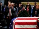 Fellow War Hero Bob Dole Honors George H.W. Bush