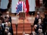 Family, Friends, Dignitaries Pay Final Respects To Bush 41